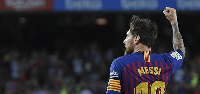 Foto: 'Messi overweegt dan toch stap naar het buitenland'