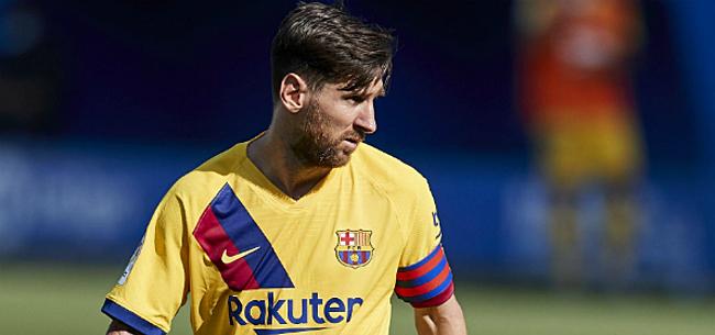 Foto: 'Barça krijgt uitstekend nieuws over Messi'