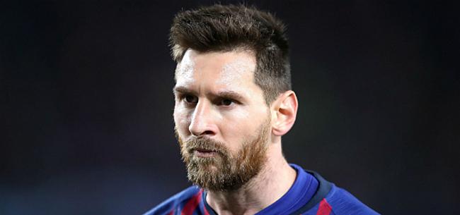 Foto: 'Messi totaal niet te spreken over transferplannen Barça'