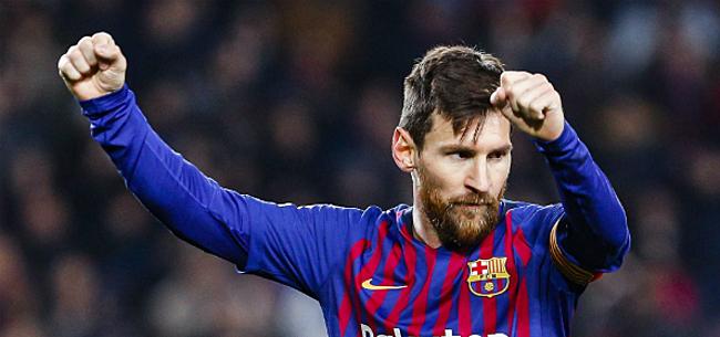Foto: 'Barcelona werkt aan drastisch toekomstplan met Messi'