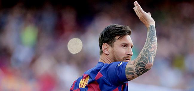 Foto: 'Messi geeft voorkeur aan als nieuwe coach FC Barcelona'