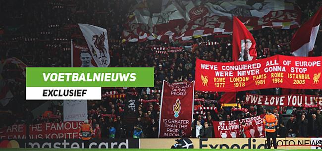Foto: Belgische steun voor Liverpool tegen Genk: