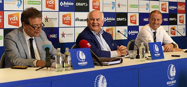 Foto: Gent geeft woordje uitleg bij nieuwe aanwinsten: