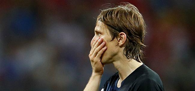 Foto: 'Real komt met keiharde boodschap voor Modric'