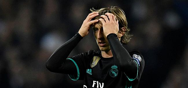 Foto: 'Paniek slaat toe bij Real: enorme aanbieding voor Modric'