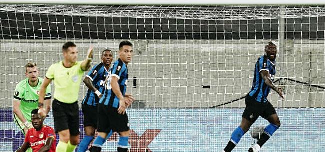 Foto: Lukaku knalt Inter naar halve finale, United speelt verlengingen
