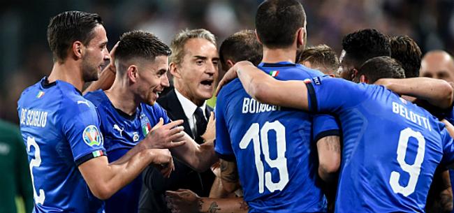 Foto: Mancini ziet België samen met vier andere landen als topfavoriet voor het EK