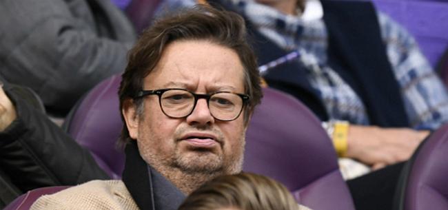 Foto: Coucke neemt geen blad voor de mond over crisis Anderlecht