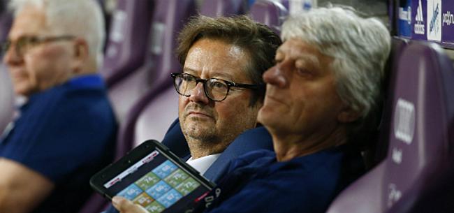 Foto: Argwaan bij Anderlecht: