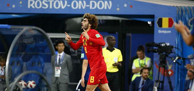 Foto: Chadli duidelijk over mogelijke transfer van Fellaini naar Anderlecht