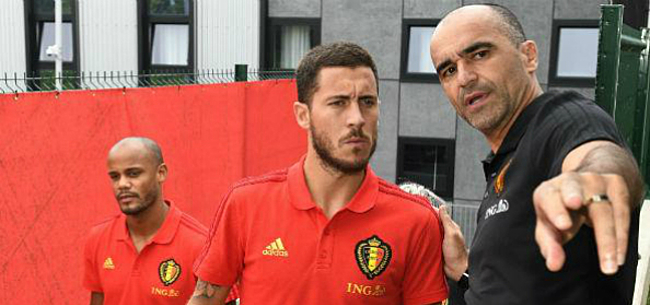 Foto: Martinez reageert voor het eerst op transfer Hazard