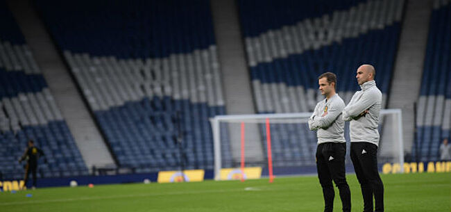 Foto: Assistent Martinez neemt opmerkelijke beslissing voor Schotland-België
