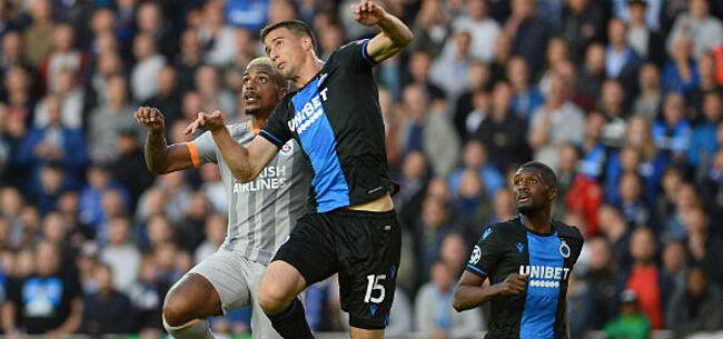 Foto: Domper voor Club Brugge: verdediger opnieuw weken out
