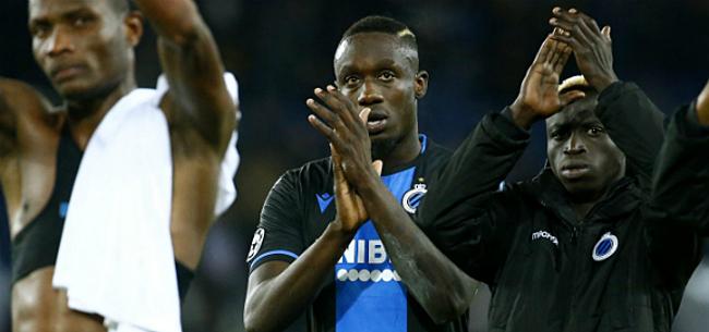 Foto: Club Brugge spreekt sanctie uit voor verguisde Diagne