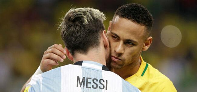 Foto: 'Barça 'misbruikt' Neymar als zoethoudertje voor Messi'