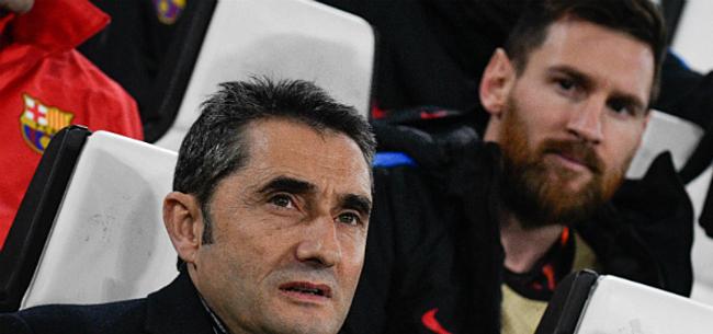 Foto: 'Valverde op de wip, Messi duidt nieuwe coach al aan'