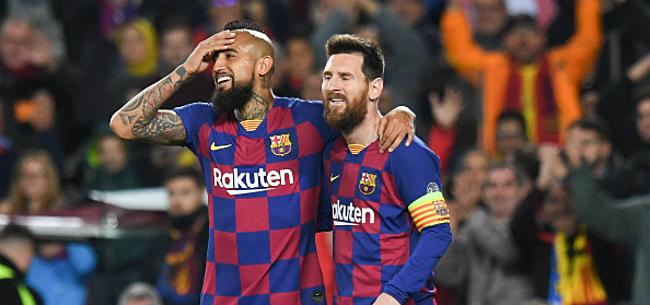 Foto: Magische Messi leidt Barça met 52ste hattrick naar zege