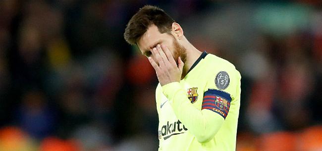 Foto: La Liga zet clan-Messi meteen op zijn plaats