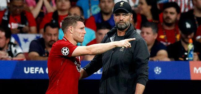 Foto: Na Klopp verlengt ook routinier Milner contract bij Liverpool