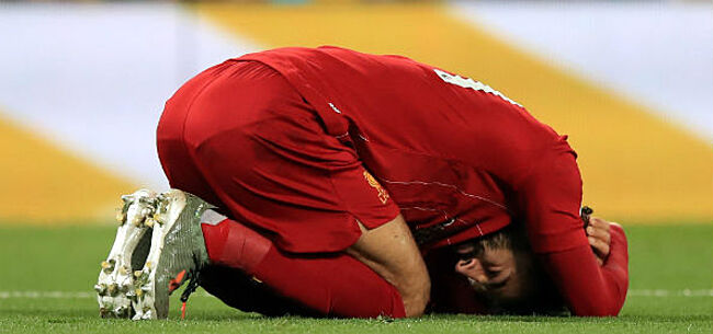 Foto: Opdoffer voor Klopp: Salah geeft verstek met enkelblessure