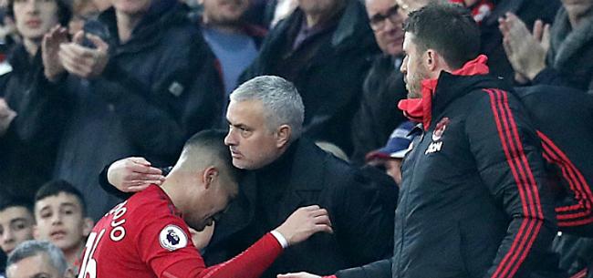 Foto: Mourinho redt zijn vel na spannende clash met Arsenal