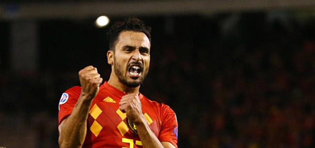 Foto: 'Uitstekend nieuws voor Club en Antwerp met het oog op Chadli'