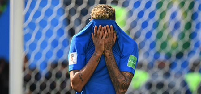 Foto: Steun voor huilende Neymar: