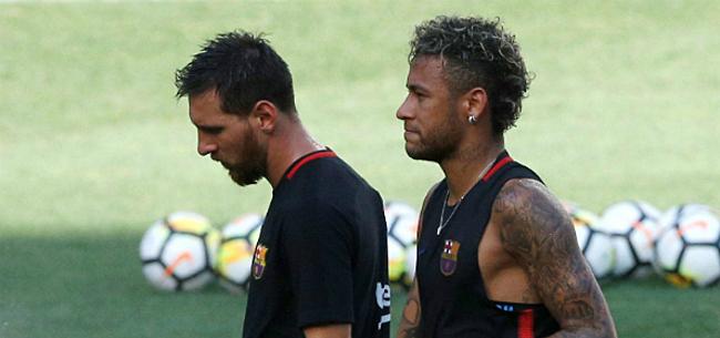Foto: Eerlijke Messi gooit details over Neymar-soap op tafel