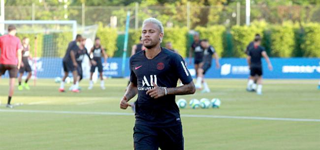 Foto: 'Neymar maakt zich onmogelijk met nieuwe protestactie'