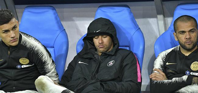 Foto: 'Neymar krijgt erg zware sanctie na slag aan supporter'