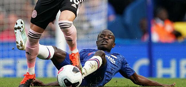 Foto: Kanté bezorgt Chelsea opdoffer, opvolger Hazard op komst