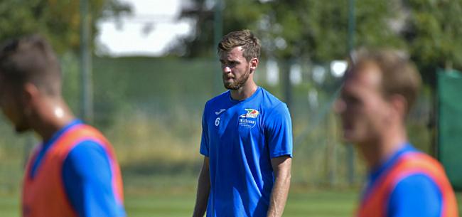 Foto: Verheyen legt uit waarom Lombaerts niet speelt: