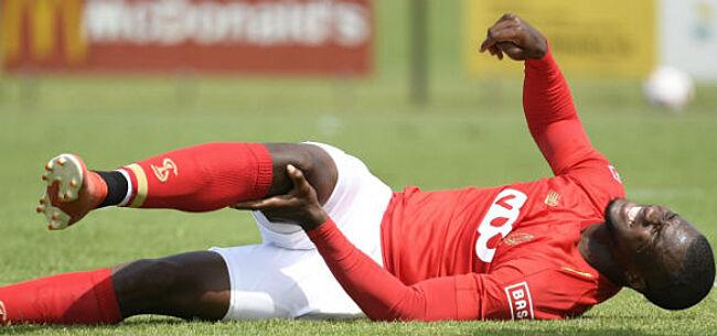 Foto: Standard kent ernst van blessure Oulare