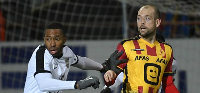 Foto: 'KV Kortrijk heeft aanvaller van Eupen bijna beet'