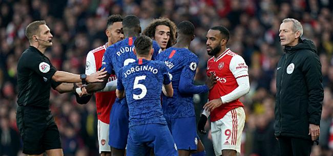 Foto: Chelsea klopt Arsenal na enorme blunder en lekkere counter
