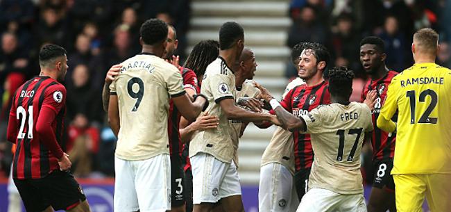 Foto: United blijft ziek: ook Bournemouth maatje te groot