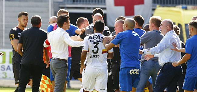 Foto: KV Mechelen komt met officieel statement na vechtpartij op Union