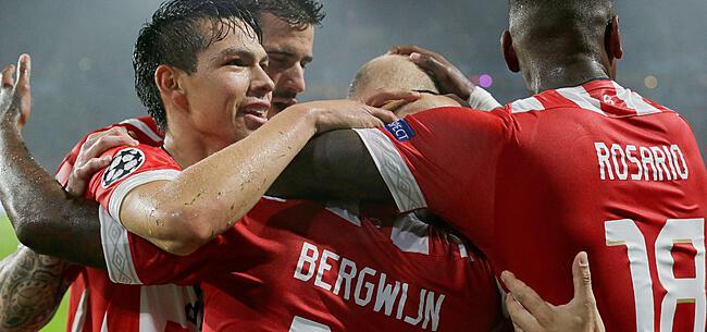 Foto: PSV maakt statement in play-offs CL, Salzburg sneuvelt verrassend