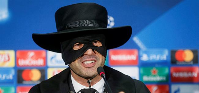 Foto: Zorro! Shakhtar-coach moet belofte inlossen na kwalificatie