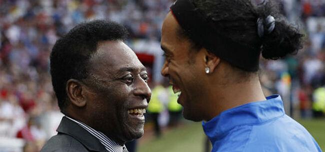 Foto: Braziliaanse grootheid Pelé ontkent uitspraken van zijn zoon
