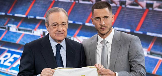Foto: 'Hazard krijgt érg vreemd rugnummer toegewezen bij Real'