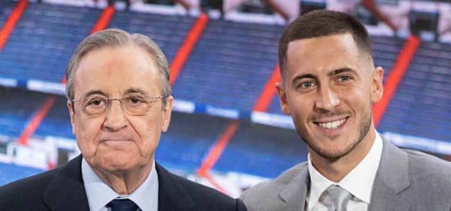 Foto: 'Real-voorzitter Pérez maakt zich grote zorgen over Hazard'