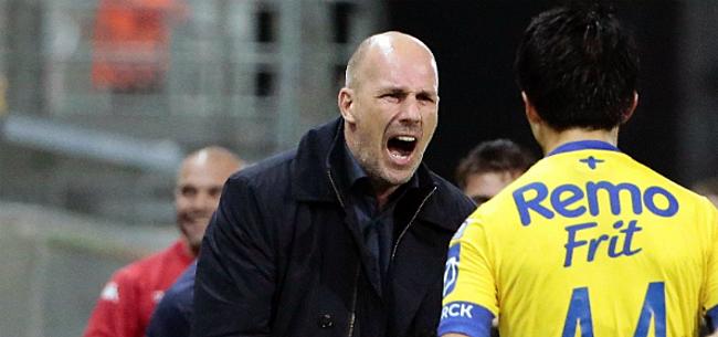 Foto: Philippe Clement na nieuwe nederlaag: