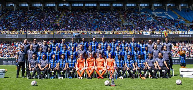 Foto: Win een plaatsje op de ploegfoto én een ontbijt met spelers Club Brugge!
