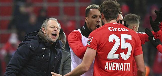 Foto: Preud'homme over geviseerde speler: