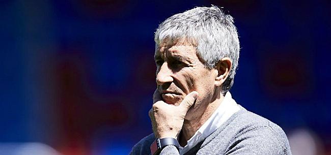 Foto: Setién onder enorme druk: Barça-coach bevestigt spanningen