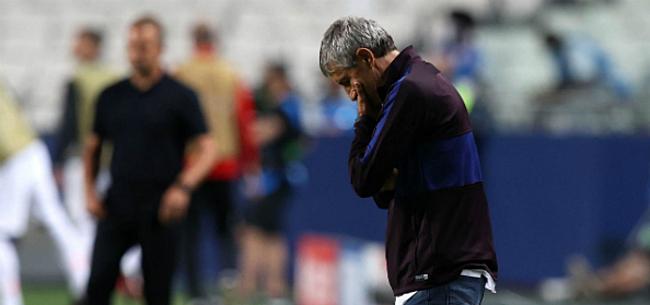 Foto: 'Barça grijpt in: Setién ontslagen na ongeziene afgang'