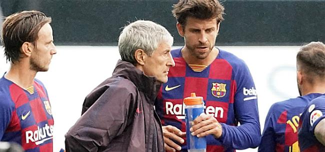 Foto: 'Paniek bij Barça: bestuur geeft groen licht voor nieuwe coach'