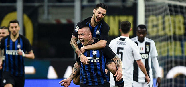Foto: Nainggolan trapt Inter naar Champions League, ook Castagne mag vieren