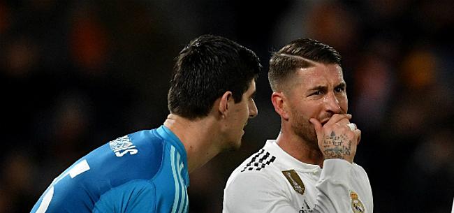 Foto: 'Ramos uit bedenkingen bij transfer Hazard en aanblijven Courtois'